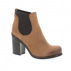 Boots cuir nubuck cuoio Nuova riviera