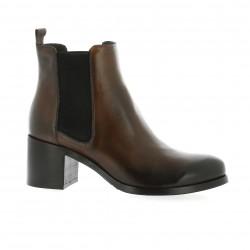 Paos Boots cuir cognac