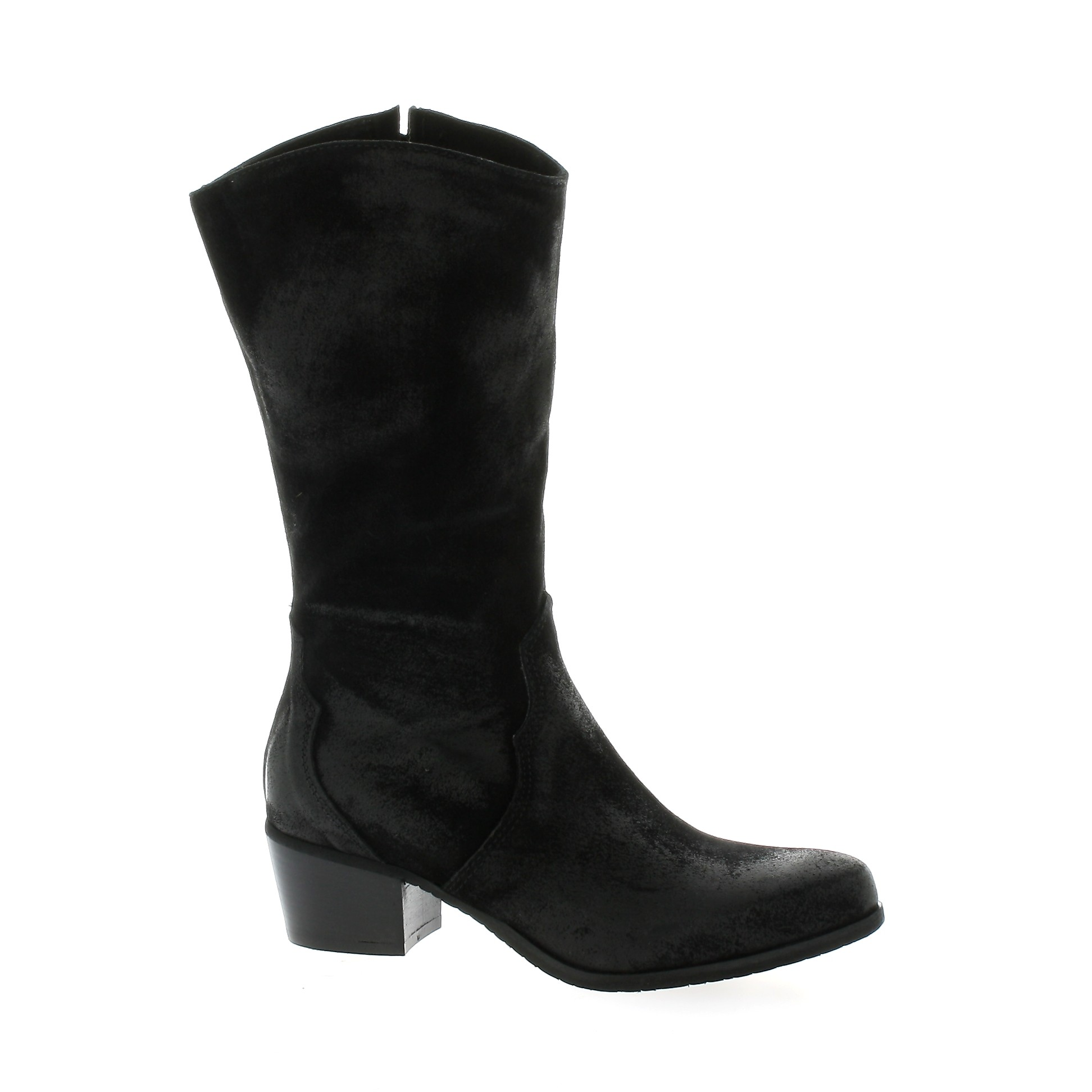 Pao Bottes Bottes cuir velours Pao soldes nmTnQL