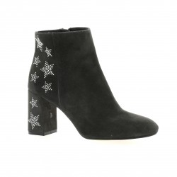 Exit Boots cuir anthracite
