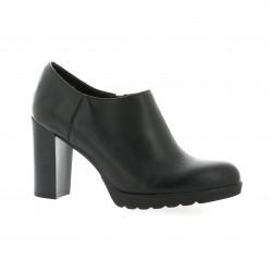 Exit Low boots cuir noir