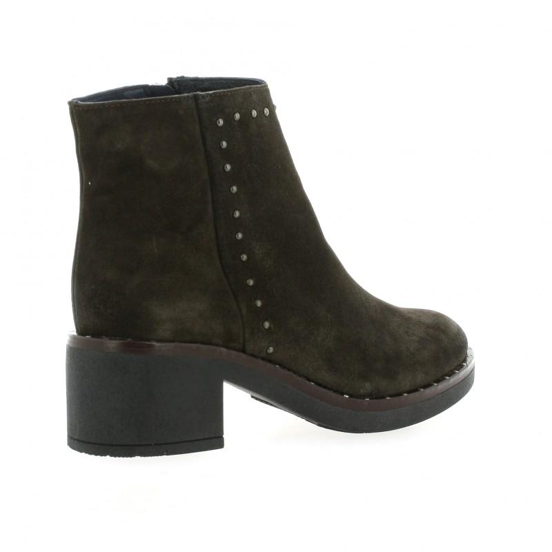 Riva Di Mare Bottines Boots cuir velours Riva Di Mare soldes DFtO5XJKg