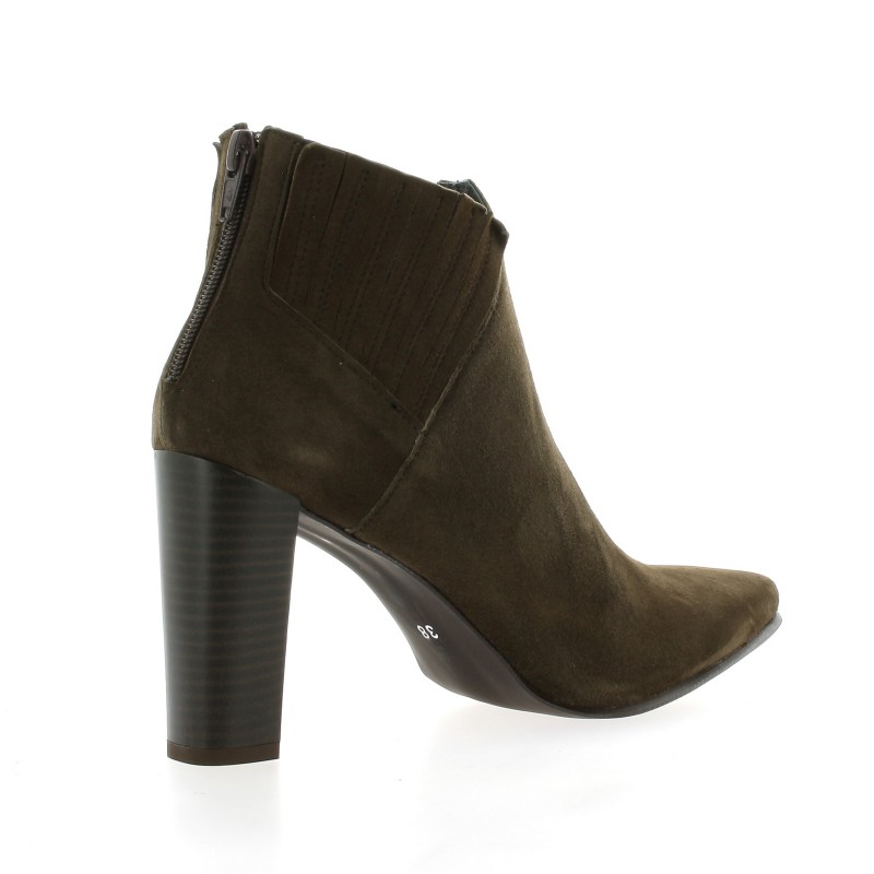 Pao Boots Cuir Velours Marron - 35 0y7wlb5Cy