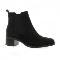 We do Boots cuir python noir