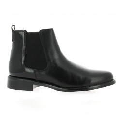 We do Boots cuir vernis noir