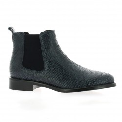 We do Boots cuir python marine