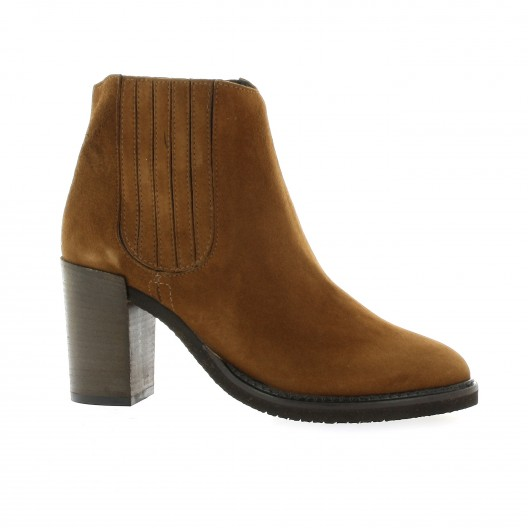 Pao Boots Boots cuir velours Pao soldes 1H7aYRIjlp