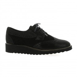 So send Derby cuir velours noir