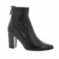 Humat Boots cuir noir