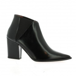 Elizabeth stuart Boots cuir glacé noir