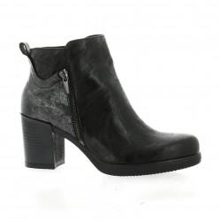 Donna piu Boots cuir noir