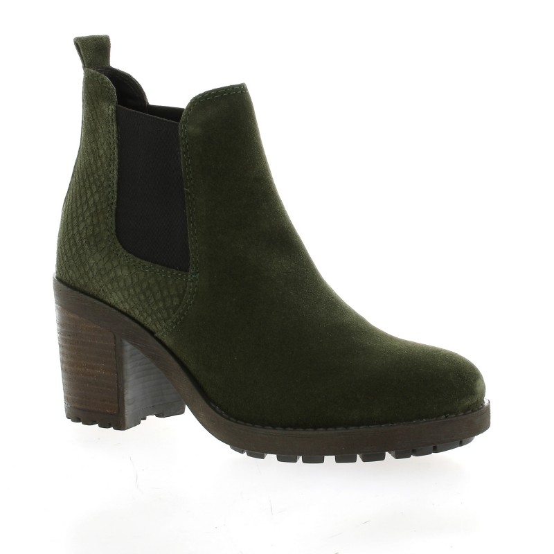 So Send Boots Boots cuir velours So Send soldes VasF26d1