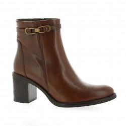 Elizabeth stuart Boots cuir cognac