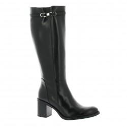 Elizabeth stuart Boots cuir noir