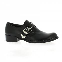 Pao Derby cuir noir