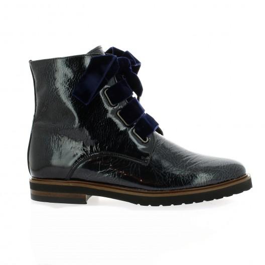 Chaussures à lacets MITICA cuir verni noir 40 NP7pRdj