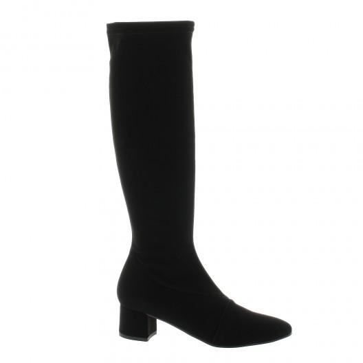 c1801f6a813 Elizabeth Stuart chaussure bottes stretch noir Diad 322