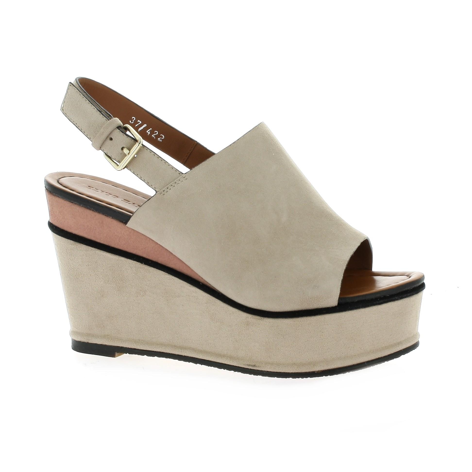 77322f3b0d7 Elvio Zanon Nu pieds cuir Cognac - Chaussures Sandale Femme GH8HUA1Z -  destrainspourtous.fr