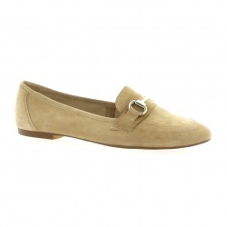 Exit Mocassins cuir velours sable