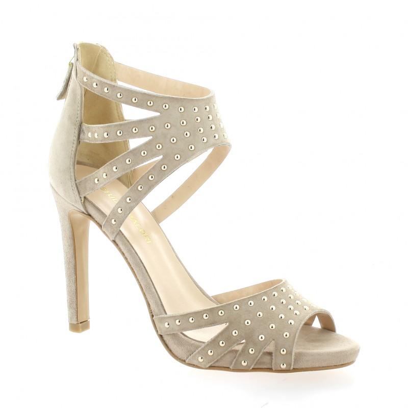 chaussures fremilu escarpins nu pieds cuir velours rose. Black Bedroom Furniture Sets. Home Design Ideas