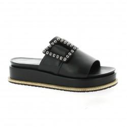Bruno premi Nu pieds cuir noir