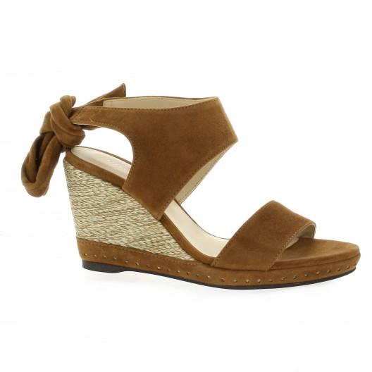 nu cuir velours chaussures cognac pieds Plainval Studio Vidi qgFSwTUU