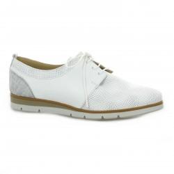 Pao Derby cuir blanc