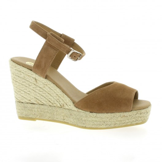 Pao Espadrilles Espadrille cuir velours Pao fjuLdMm
