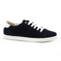 So send Derby cuir velours marine