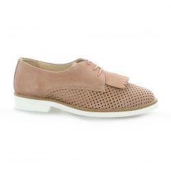 So send Derby cuir velours naturel