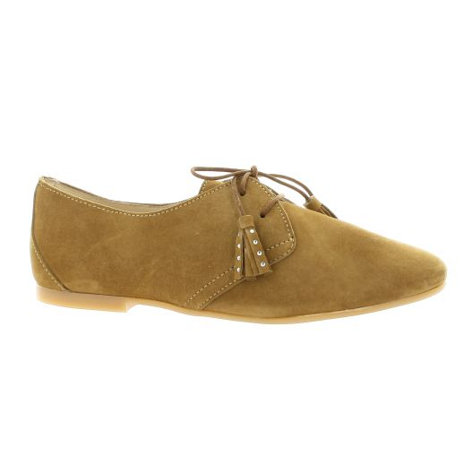So Send Chaussures Derby cuir velours So Send soldes