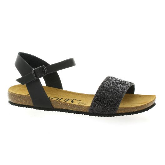 K. Daques Sandales Nu pieds cuir pailleté K. Daques 1jhHWL