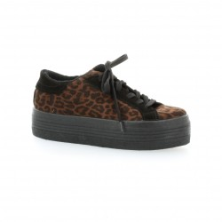 Baskets leopard Ippon Vintage