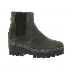 Alpe Boots cuir velours gris