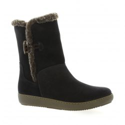 Alpe Boots cuir velours marine