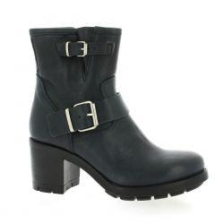 Pao Boots cuir bleu