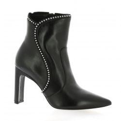 Bruno premi Boots cuir noir