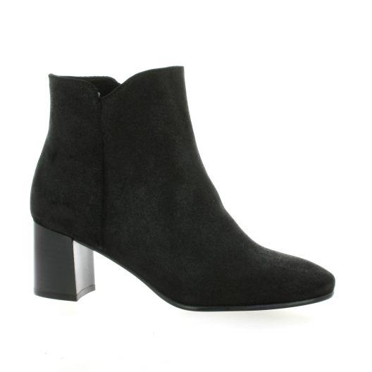 Exit Boots cuir laminé noir