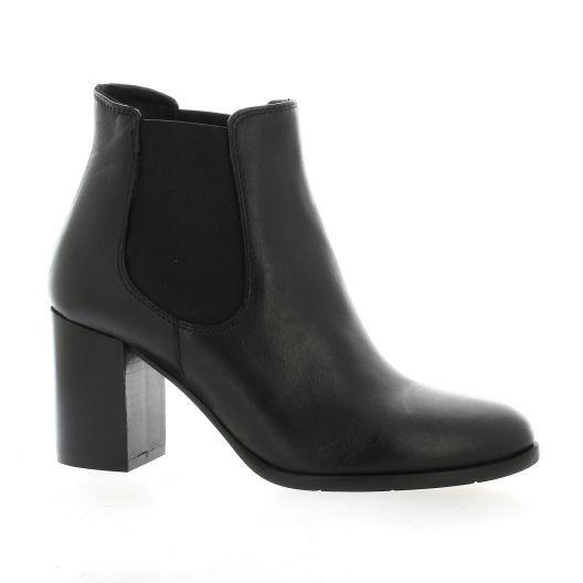 Pao Boots cuir noir