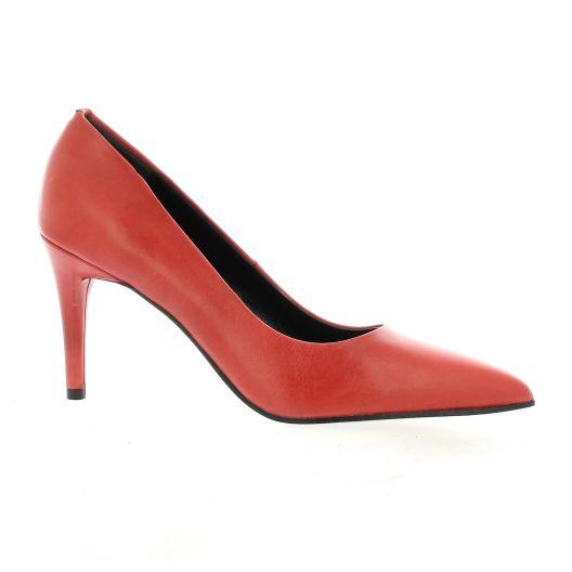 Elizabeth stuart Escarpins cuir rouge