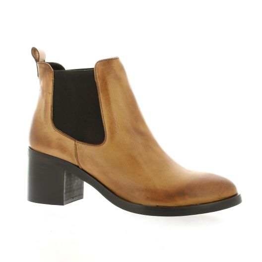 Giancarlo Boots cuir cognac
