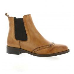 Giancarlo Boots cuir cognac