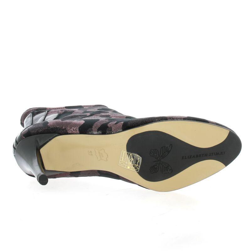 Velours Elizabeth 604a18 Stuart Bordeaux Boots Noir Chaussures Civoli OUwnFxw