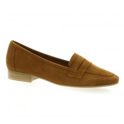We do Mocassins cuir velours camel