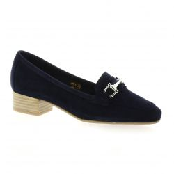 We do Mocassins cuir velours marine