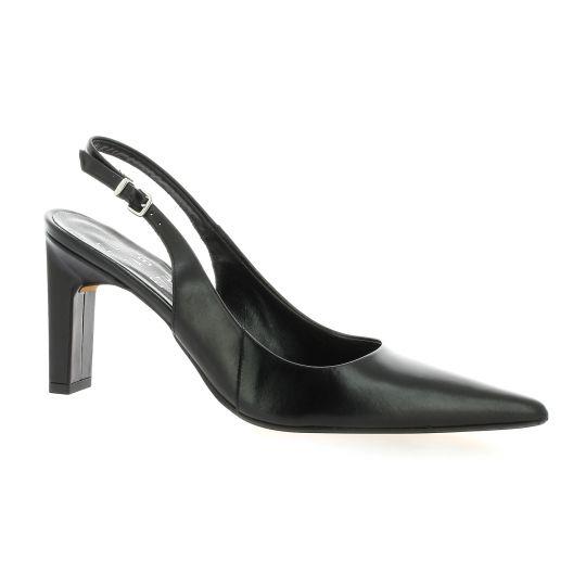 a1c86d2eee3 Elizabeth Stuart chaussures escarpins cuir noir Gesty 304