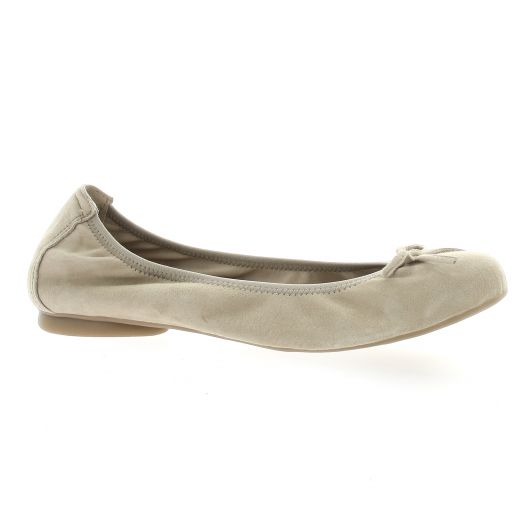 Latina Ballerines cuir velours sable