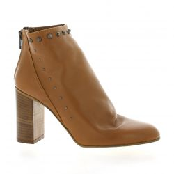 Giancarlo Boots cuir camel