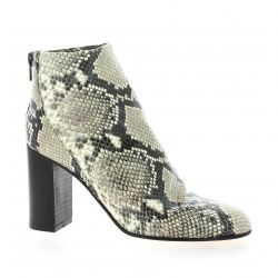 Giancarlo Boots cuir serpent gris