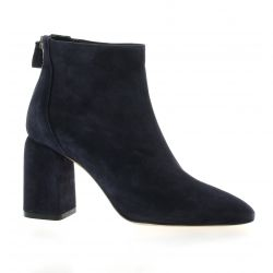 Fremilu Boots cuir velours marine